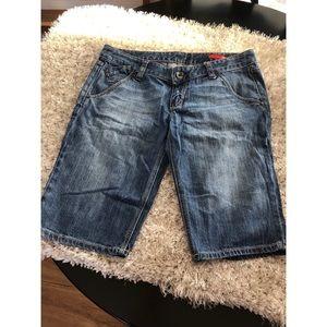 X2 Denim Bermuda Shorts Size 12